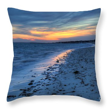 Beyond The Gilded Sunset Throw Pillow