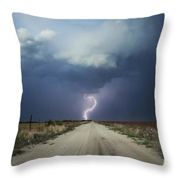 Beyond The Open Road Throw Pillow