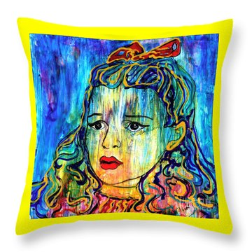 Beyond The Rain Throw Pillow