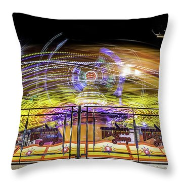 Beyond The Safety Fence Throw Pillow