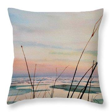 Beyond The Sand Throw Pillow