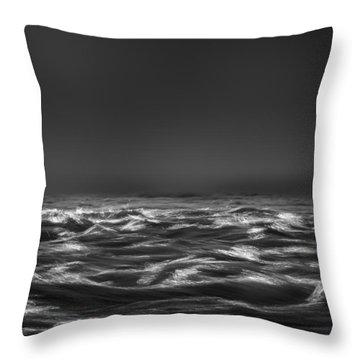 Beyond The Sea Throw Pillow by Bob Orsillo
