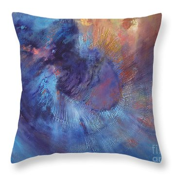 Beyond Throw Pillow by Valerie Travers