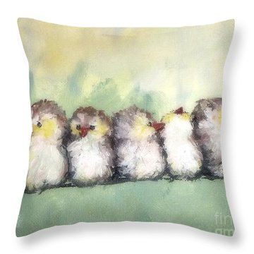 Bff's Throw Pillow