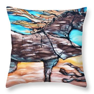 Bhound To Get There Throw Pillow