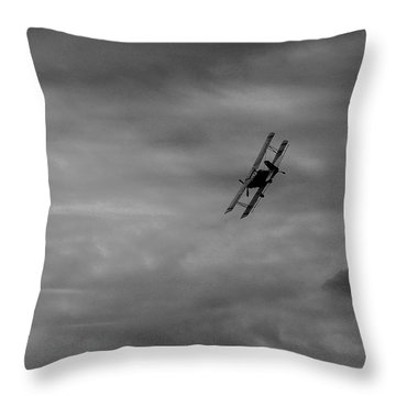 Bi Wing  Throw Pillow