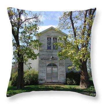 Bible Grove  Missouri Throw Pillow