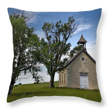 Bichet School Throw Pillow