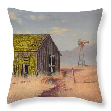 Bickelton Barn Throw Pillow