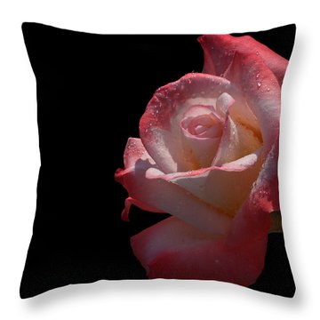 Throw Pillow featuring the photograph Bashful by Doug Norkum