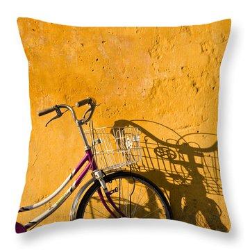 Bicycle 07 Throw Pillow