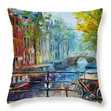 Amsterdam Throw Pillows