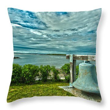 Biddeford Pool Bell Throw Pillow