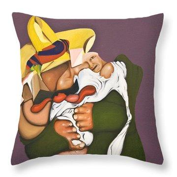 Biding Time Throw Pillow