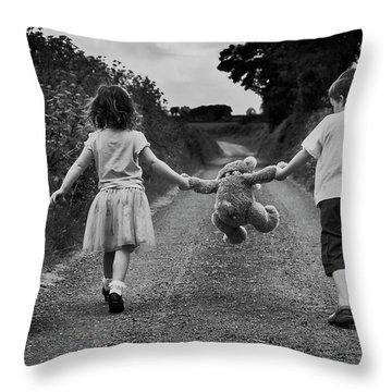 Childhood Throw Pillows