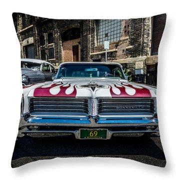 Big Bad Bonnie Throw Pillow by Randy Scherkenbach