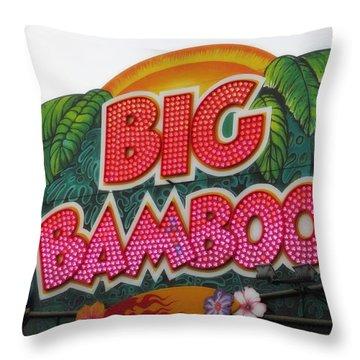 Big Bamboo Throw Pillow