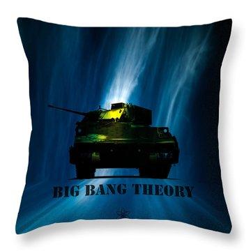 Big Bang Theory Throw Pillow by Bob Orsillo