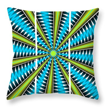 Big Bang Triptych Throw Pillow