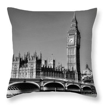 Elizabeth Tower Throw Pillows