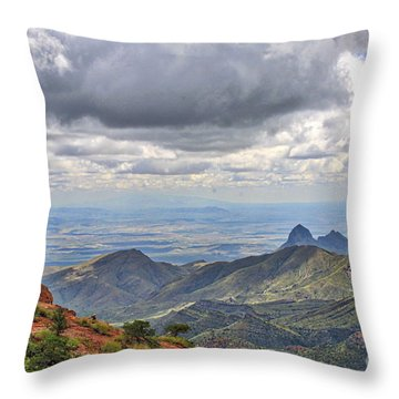 Big Bend National Park Throw Pillow