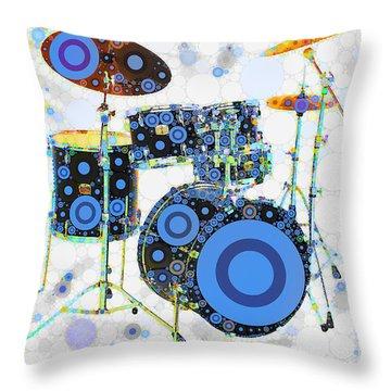 Big Boom Bullseye Throw Pillow