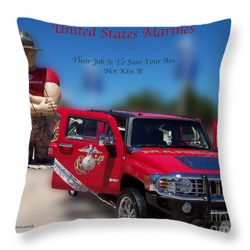 Big Boy Toys Throw Pillow by Thomas Woolworth