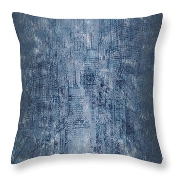 Big City Throw Pillow by Matt Lindley