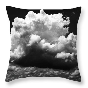 Big Cloud Throw Pillow