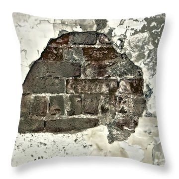Big Hair Abstract Throw Pillow