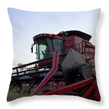 Big Harvest Throw Pillow