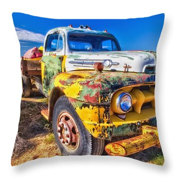 Big Job Throw Pillow