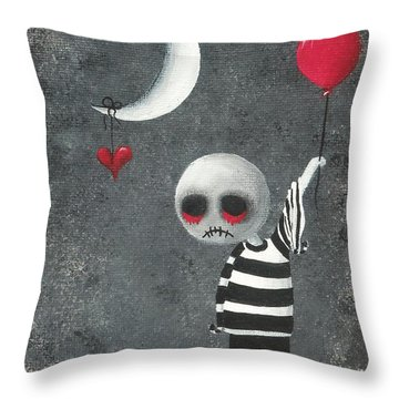 Big Juicy Tears Of Blood And Pain 4.1 Throw Pillow
