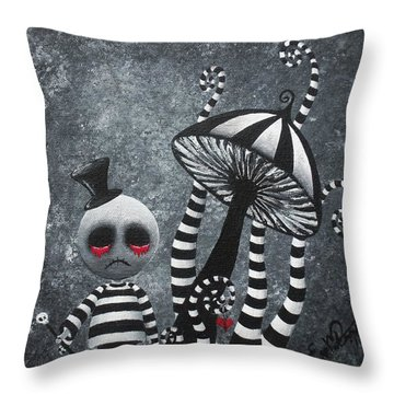 Big Juicy Tears Of Blood And Pain 6 Going 2 A Tea Party Throw Pillow