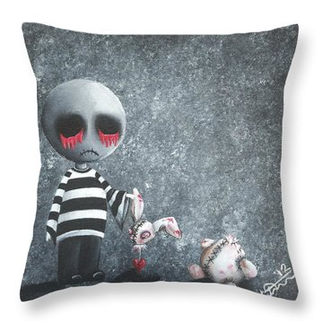 Big Juicy Tears Of Blood And Pain 9 Throw Pillow