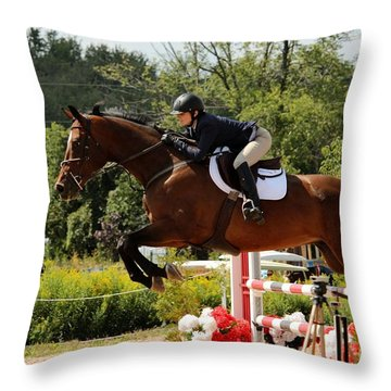 Big Jumper Throw Pillow