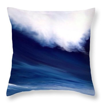 Throw Pillow featuring the digital art Big Kahuna 2 by Anthony Fishburne