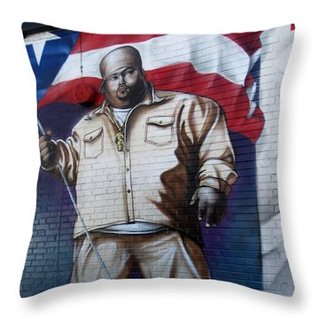 Big Pun Throw Pillow