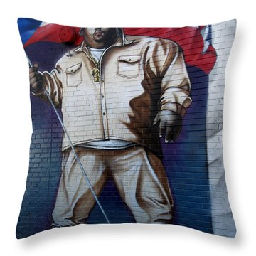 Big Pun Throw Pillow by RicardMN Photography