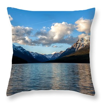 Throw Pillow featuring the photograph Big Sky by Aaron Aldrich
