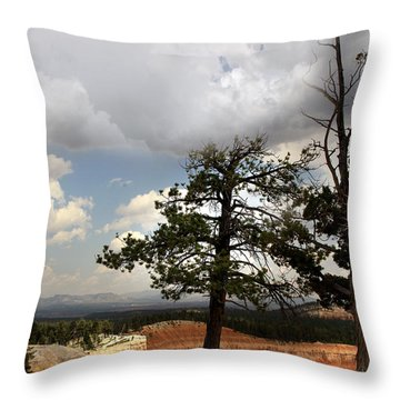Big Sky Over Bryce Canyon Throw Pillow by Joseph G Holland
