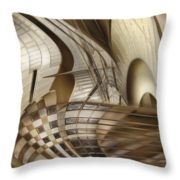Throw Pillow featuring the photograph Big Sticks by Steve Sperry