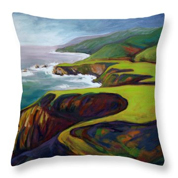 Big Sur 2 Throw Pillow