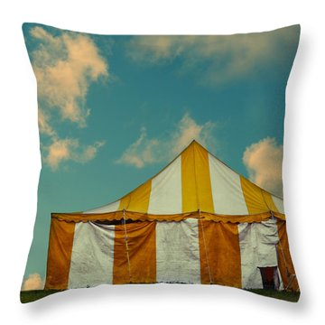 Big Top Throw Pillow by Laura Fasulo