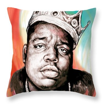 Biggie Throw Pillows