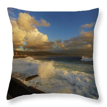 Bigseas Throw Pillow