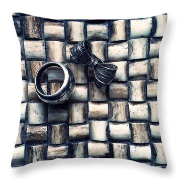 Bijouteries Throw Pillow by Marco Oliveira