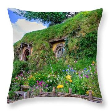 Bilbo Baggins House 1 Throw Pillow