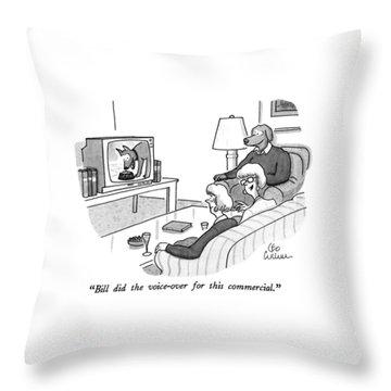 Tv Commercials Throw Pillows