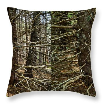 Billions Of Branches Throw Pillow